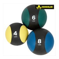Buy gym accessories online at lower prices only on Magnus Fitness World. Get Isosolid medicine ball to do several workouts from the comfort of your home. This cap medicine ball is one of the important training tools used in most gyms for toning, weight training, abs workouts, and other exercises. http://goo.gl/s114Wz