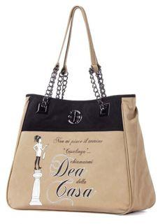 Le Pandorine - Borse - Shopping - Donna - CLASSIC2TONESNeroBei -  FASHIONQUEEN.NET  Le Pandorine  Casalinga  Fashionqueen 9a5ec2daeeb
