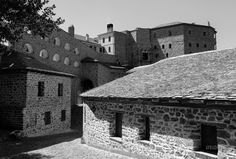 https://flic.kr/p/GgTXdo | Άγιο Όρος Ιερά Μονή Σίμωνος Πέτρας - Mount Athos Holy Monastery of Simon Petra - George @ 02 | #Monastery #Holy #Mount #Mt #Athos #Simonos #Simon #Petra #Simonopetra #Άγιο #Όρος #Ιερά #Μονή #Σίμωνος #Πέτρας #Καμπάνα # Church #domes #Monks #Tower #Σταυρός  #θρησκεία #travel #religion #solitude #prayer #sanctified #Candle #Saint #Chapel #Icons #Miracle #faith #Cross #Εκκλησία #Εκκλησάκι #Άγιος #θαύμα #προσευχή #light #Hand #mountain #blessing  #bell #καμπαναριό…