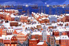 Boston, City by the Sea ~ Carol Dyer