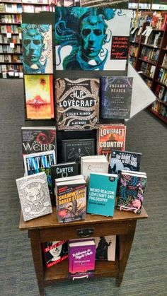 Weird/uncanny fiction, featuring H.P. Lovecraft at Vroman's Bookstore, Pasadena, CA