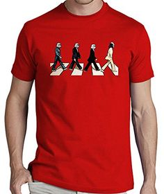 LaTostadora Camiseta Star wars popart Beatles - Camiseta hombre clásica, calidad premium Rojo Talla L #camiseta #realidadaumentada #ideas #regalo
