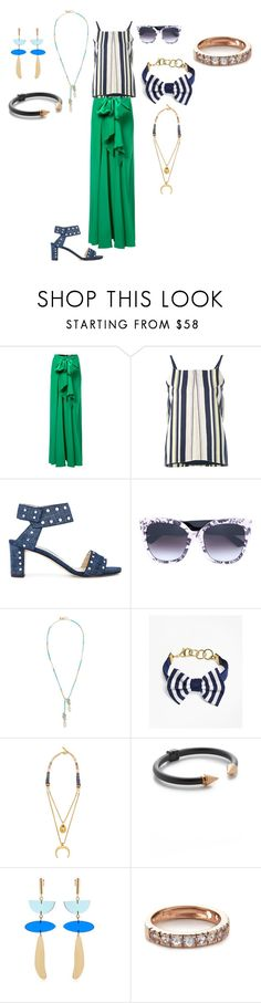 """""""SUMMERTIME"""" by ramakumari ❤ liked on Polyvore featuring Tome, Zeus+Dione, Jimmy Choo, Gucci, Emily & Ashley, Brooks Brothers, Lizzie Fortunato, Vita Fede, Isabel Marant and Arik Kastan"""