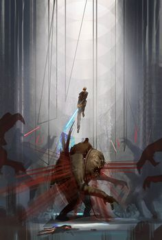 Force Unleashed concept art is the coolest Star Wars art in ages
