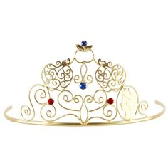 Snow White Gold Tiara - Everything Princesses, $19.99