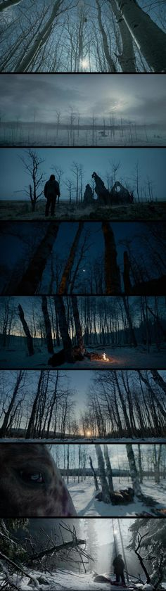 The Revenant by Alejandro Iñárritu - glorious landscapes (cinematographer Emmanuel Lubezki)