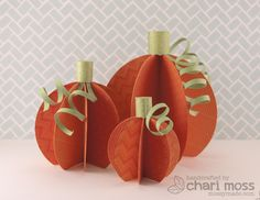 the Lawn Fawn blog: Lawn Clippings Video {10.11.12} paper pumpkins