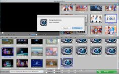 The software not only supports video merger function, but also supports to merge various formats of pictures and audio. Just when you put multiple video files, pictures, or audio to the software and select them, then you can use the software to merge them as you think.