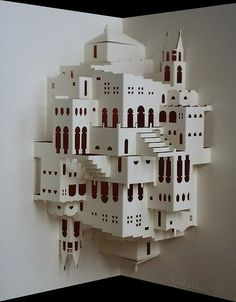 Wow! Ingrid Siliakus paper architect/artist
