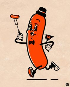 Sausage Fest Character Design Recently I was asked to design a Character/Mascot to be used for promotional items in the first annual Sausage...