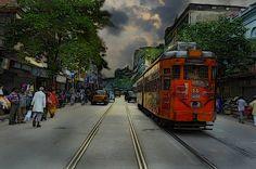 Train in Kolkata spoils