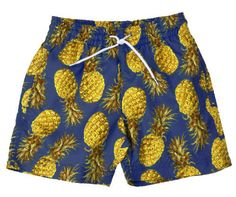 Stella Cove gold and blue pineapple shorts- completely obsessed with these swim trunks!  Talk about toddler fashion!  Chicest kid on the beach!
