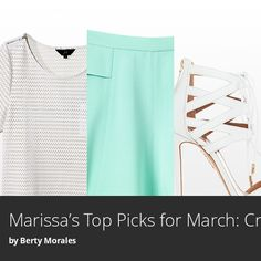 Check out my look book of must-haves for March from the People StyleWatch March issue! #StyleHunters
