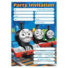 225 Best Thomas The Train Printables Images Train Party Thomas