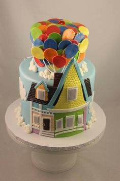 UP theme housewarming party! Don't steal my idea if we are friends, I will call you out!! lol