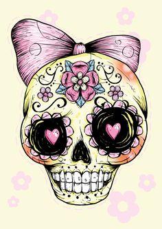 Tête de mort mexicaine.