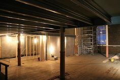 Mezzanine floor under construction in Sheffield