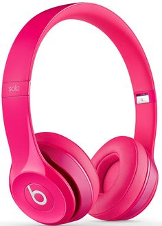Amazon.com: Beats by Dr. Dre Solo 2.0 On-Ear Headphones (Pink): Electronics wireless pink