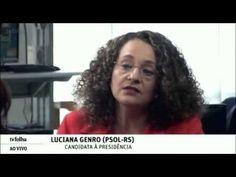 Folha entrevista presidenciável Luciana Genro do PSOL