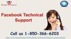 What are the positive points of Facebook Technical Support 1-850-366-6203? Just place a call at 1-850-366-6203 and our experts will tell you the positive points of Facebook Technical Support in the following manner:- • Deletion of an account is so easy. • Round the clock assurance. • Are your messages getting failed on Facebook messenger? For more information visit: http://www.monktech.net/facebook-technical-support-number.html""