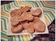 Clem is my darling Jack Russell Terrier. She is bouncey, crazy, and a very fun dog. Her birthday is in April and, of course, I'm one of those dog moms who throws parties and makes a fuss. This Throwback Thursday is rewinding to April, when I made Clem's favorite dog biscuits. For Christmas, I often send cookies in the mail to my friends; I try to include a few biscuits for their fur-kids as well. My friends always say that their pups gobble these treats up, so hopefully yours will t...