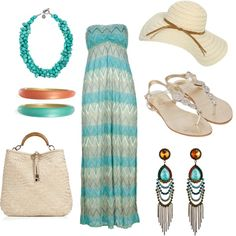 Welcome Spring with a Maxi Dress!