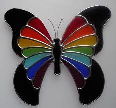 Resultado de imagen para stained glass angel patterns