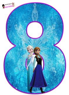 Frozen: Free Elsa and Ana Alphabet. Frozen: Bello Alfabeto Gratis de Elsa y Ana. Frozen Birthday Party, Frozen Tea Party, Frozen 1, Sofia The First Birthday Party, Elsa Birthday, Frozen Theme, Disney Frozen Elsa, Frozen Cupcake Toppers, Frozen Cake Topper