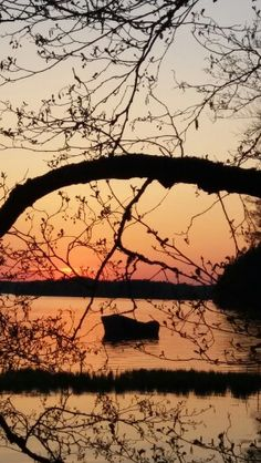 Finnish sunset...