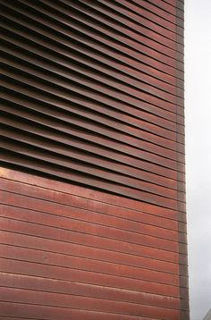 Signal Box, Herzog & de Meuron, Basel Switzerland by marcteer, via Flickr