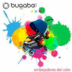 """""""Estilo y diseño"""" en la explosión de color que genera el Bugaboo #Bee #AzulRoyal en el #Moodboard de Blog de una mamá desesperada para #quieroserembajador #atodocolor #bugabooespana @BugabooES @Madresfera"""