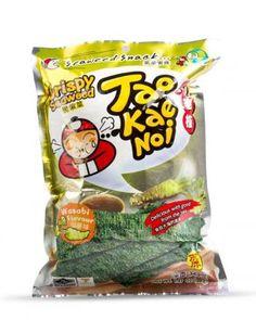 Snacki z alg morskich o smaku wasabi (36 g) - Tao Kae Noi