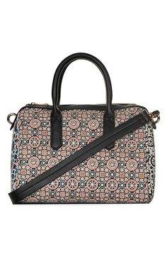 Topshop Tile Print Satchel available at #Nordstrom