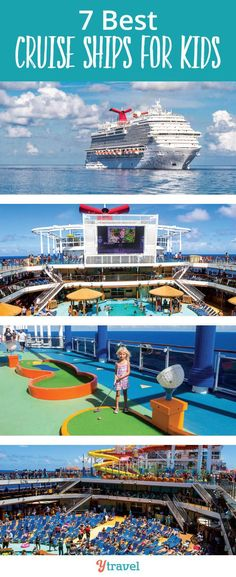 7 Best Cruise Ships for Kids Wondering what the best cruise ships for kids are? 16 year old Lewis has been taking family cruises for years and shares his inside knowledge on the 7 best cruise lines for your next family cruise. Packing List For Vacation, Packing For A Cruise, Cruise Travel, Cruise Vacation, Packing Tips, Cruise Tips, Mexico Vacation, Cruise Destinations, Vacation Travel
