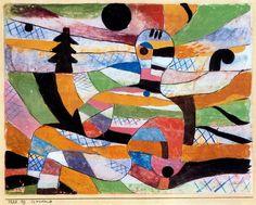 Paul Klee. Mujer Despertar (Woman Awakening). No date.