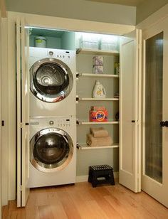 Tips for a Stylish and Well Organized Laundry Room » Let's Get Crafty!