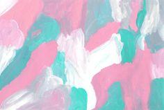 Untitled (April 2015) A4 Acrylic on paper -Cecilie Karoline