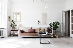 The fabulous Danish home of interior designer Natalia of Spatial Code / Line Thit Klein.