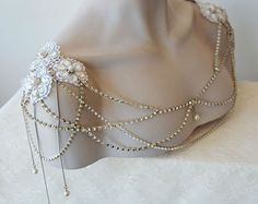 Bridal Dress Shoulder Necklace Lace Shoulder Necklace