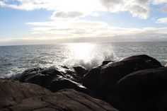 saturday afternoon on the rocks