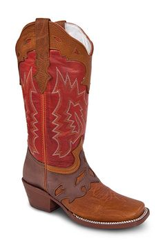 Redhawk Cowgirl Boots - 6140 Tan