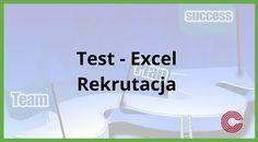 Jeśli chcesz rekrutować nowych pracowników, a bazowym programem w Twoim przedsiębiorstwie jest MS Excel, warto sprawdzić poziom umiejętności kandydatów na stanowiska poprzez test, który specjalnie przygotowaliśmy, aby cała rekrutacja stała się bardziej efektywna. Więcej informacji znajdziesz na stronie: https://www.cognity.pl/test-excel-rekrutacja,blog2,170.html   #excel, #kursexcel, #testexcel, #rekrutacjaexcel, #test