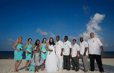 Dayna & CJ's destination wedding in Mexico, Mexico beach wedding, Mexico wedding ideas @destweds
