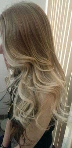Blond ombre hair by Evy ..Torrance California. .Ashley is one of my hair models♥