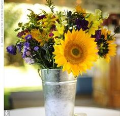should be easy to get wildflower arrangements in Sonoma!