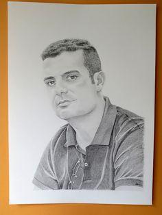 Retrato a lápiz / Pencil portrait