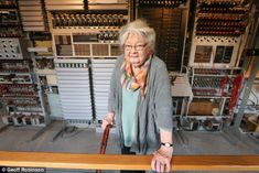 Ms Chorley was part of the Colossus C watch at Bletchley Park during the Second World War and one of the world's first computer operators World's First Computer, Sophie Rundle, Bletchley Park, 20th Century Women, Code Breaker, Genealogy Sites, Park Pictures, War Photography, Women's History