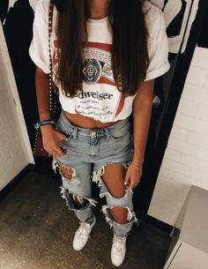 teenager outfits for school . teenager outfits for school cute Casual School Outfits, Cute Comfy Outfits, Komplette Outfits, Teen Fashion Outfits, Cute Summer Outfits, Retro Outfits, Outfits For Teens, Stylish Outfits, Preteen Fashion