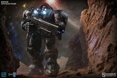 Starcraft II Jim Raynor 1/6 scale figure. #SideshowCollectibles #SideshowWishlist #Starcraft #Blizzard @collectsideshow
