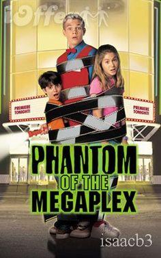 Phantom of the Megaplex. My favorite Disney Channel Original movie- Tried so hard to remember the name! Old Disney Channel, Disney Channel Movies, Disney Channel Original, Disney Films, Disney Bound, Disney Cartoons, Disney Characters, Fete Halloween, Halloween Movies